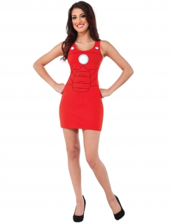 Iron Man™-Kleid für Damen Marvel™ rot