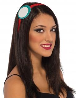 Iron Man™-Haarband für Damen türkis-weiss-rot