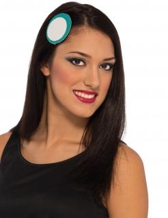 Iron Man™ Haarspange für Damen blau-weiss