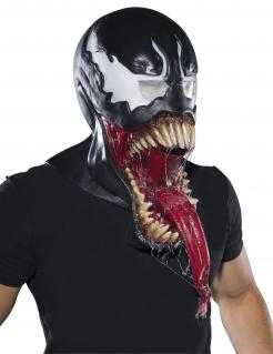 Venom™-Lizenzmaske für Erwachsene schwarz-weiss-rot