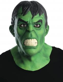 Hulk™-Maske Deluxe für Erwachsene grün-schwarz-weiss