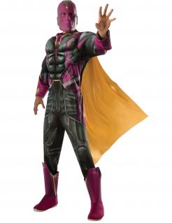 Vision™-Deluxekostüm für Herren Captain America Civil War™ grün-lila