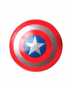 Captain America™-Schild Civil War™ Kostüm-Accessoire blau-weiss-rot 60cm