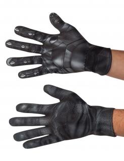 Black Panther™-Handschuhe Kostüm-Zubehör schwarz