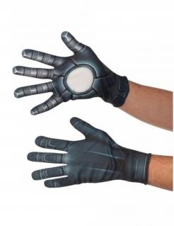 Winter Soldier™-Handschuhe Captain America Civil War™ Accessoire grau-weiss