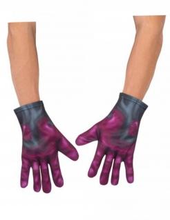 Vision™-Handschuhe Captain America Civil War™ Kostüm-Accessoire violett-grau