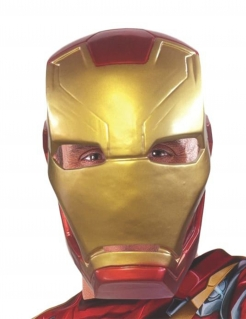 Iron Man™-Maske Captain America Civil War™ Kostümzubehör gold-rot