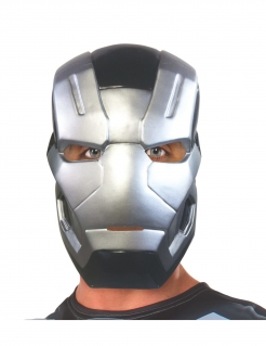 War Machine™-Maske Captain America Civil War™ silber