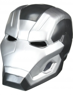 War Machine™-Maske zweiteilig Captain America Civil War™ grau