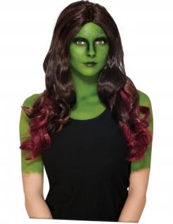 Gamora™-Damenperücke braun-violett