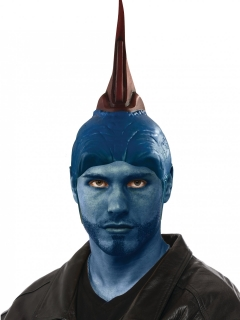 Kopfbedeckung für Yondu™-Kostüme Guardians of the Galaxy 2™ blau-rot