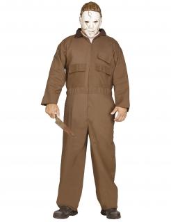 Michael Myers™-Kostüm Halloween braun-weiss