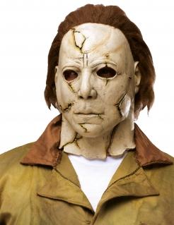 Michael Myers™-Maske Halloween-Accessoire beige