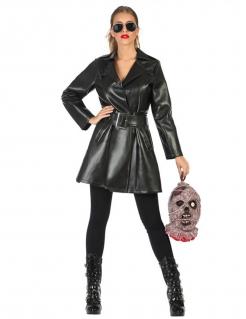 Vampirjägerin-Verkleidung für Damen Halloween schwarz