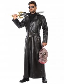 Vampirjäger-Kostüm für Herren Halloween schwarz