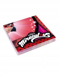 Ladybug™-Servietten Tischdeko 20 Stück rot 33x33cm