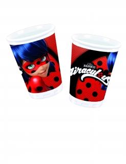 Ladybug™-Plastikbecher-Set 8 Stück bunt 200 ml