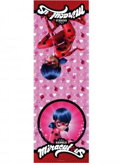 Ladybug™-Tischdecke für Kinder Dekoration rot-pink
