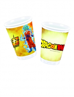 Dragon Ball Super™-Plastikbecher 8 Stück bunt 200 ml