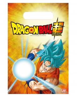 Dragon Ball Super™-Geschenktüten 6 Stück gelb 23x16cm