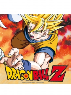 Dragon Ball Z™-Servietten Tischdeko 33x33cm