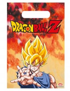 Dragon Ball Z™-Geschenktüten 6 Stück bunt 23x16cm