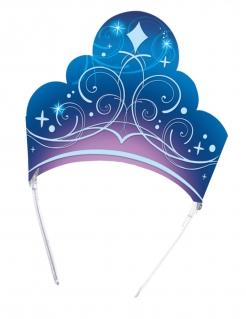 Cinderella™-Kronen Foto-Set 6 Stück blau