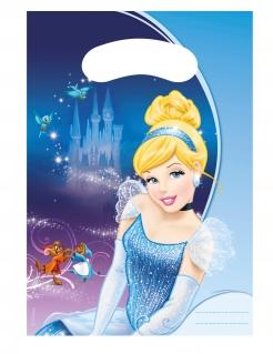 Disney Cinderella™ Geschenktüten 6 Stück bunt 17x23cm