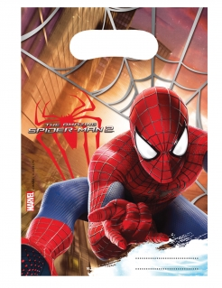 The Amazing Spider-Man 2™ Partytüten 6 Stück bunt 17x23cm