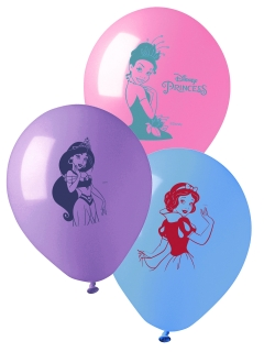 Prinzessinnen-Luftballons Disney™ Deko 10 Sück bunt 28cm