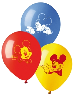Mickey Maus™-Luftballons Partydeko 10 Stück bunt 28cm