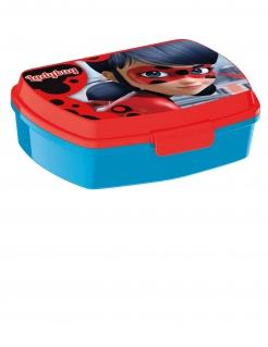 Ladybug™-Brotdose Miraculous™ rot-blau 16,5x13cm