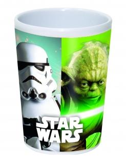 Star Wars™-Becher Yoda und Stormtrooper Tischdeko bunt 200ml