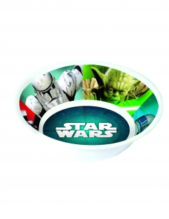 Star Wars™-Suppenteller Melamin Tischdeko bunt 14cm