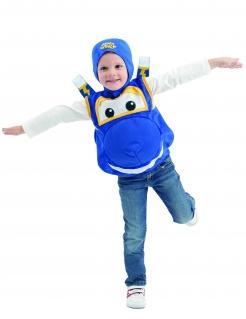 Jerome Kostüm für Kleinkinder aus Super Wings™ blau-gelb-weiss