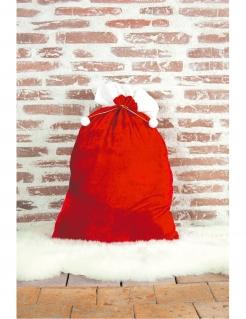 Weihnachtsmann-Sack rot-weiss 48 x 75 cm