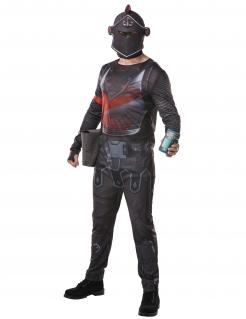 Black Knight Fortnite™-Kostüm für Herren Faschingskostüm grau-rot