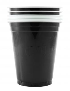 Venom™-Becher American Original Cup 20 Stück schwarz-weiss 530ml