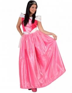 Zauberhafte Prinzessin Damenkostüm pink