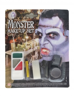 Monster Make-up-Set Halloween-Schminke bunt