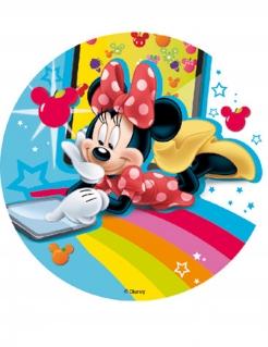Kuchenoblate Minnie Maus und Friends™ Kuchendeko bunt 18,5cm