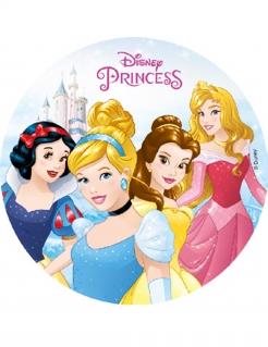Disney Prinzessinnen-Kuchenplatte Kuchendeko bunt 18,5cm