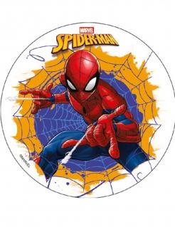 Spiderman™-Tortendeko bunt 18,5cm