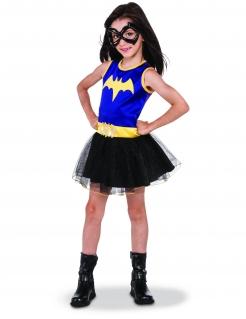 Batgirl™-Kostüm für Mädchen DC Super Hero Girls™ schwarz-blau-gelb