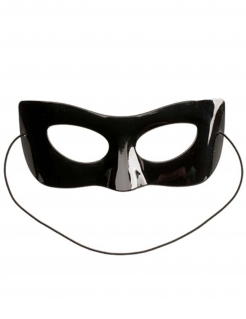 Cat Noir™-Maske für Kinder mit Bonbons Ladybug™ schwarz