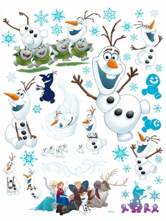 Olaf™-Fenstersticker Frozen™ Dekoration 42x30cm