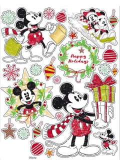 Mickey Maus™-Fenstersticker Dekoration bunt 30x20cm