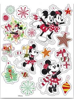 Minnie Maus™-Fensteraufkleber Disney™ bunt 30x20cm