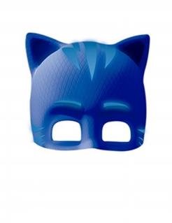 PJ Masks™-Maske für Kinder mit Süßigkeiten Catboy blau