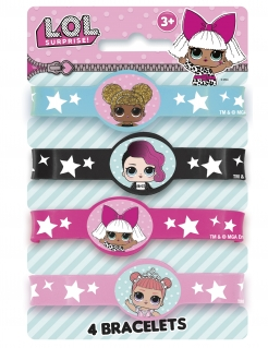 LOL Surprise™ Armbänder-Set 4 Stück bunt